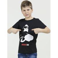 Camiseta Infantil Estampa Os Incriveis Disney