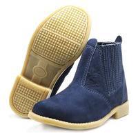 Botina Cowtry Sw Shoes Lançamento Azul Marinho
