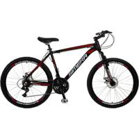Bicicleta Aro 26 Simera 27V Freios A Disco Alumínio Shimano - Unissex