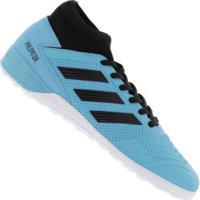 Chuteira Futsal Adidas Predator 19.3 Tr Ic - Adulto - Aqua