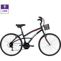 Bicicleta Aro 26 Caloi 100 F 21 Marchas - Masculino