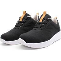 Tenis Barth Shoes Zen Linho - Preto
