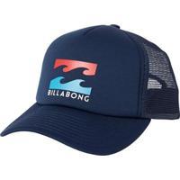 Boné Billabong Snap Podium Trucker Navy - Unissex-Marinho