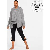 Plus Size - Jaqueta Nike Yoga Collection Feminina