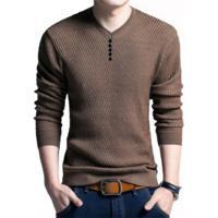 Suéter Básico Masculino Whistler - Marrom