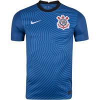 Camisa De Goleiro Do Corinthians 2020 Nike - Masculina - Azul