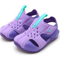 Sandália Nike Menina Sunray Protect 2 Roxa