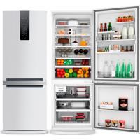 Refrigerador   Geladeira Brastemp Frost Free 2 Portas 478 Litros Branca - Bre58Ab