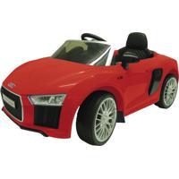 Carrinho Elétrico Xalingo Audi R8 6V Com Controle Vermelho