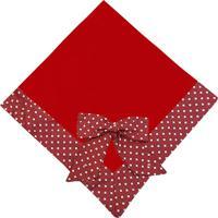 Manta De Beb㪠Padroeira Baby Balon㪠Vermelha.. - Vermelho - Menina - Dafiti