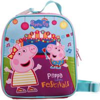 Lancheira Peppa Pig: Peppa Loves Festivals®- Azul & Rosadermiwil