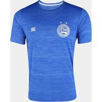 Camisa Bahia 20/21 Aquecimento Esquadrão Masculina - Masculino-Azul