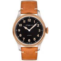 Relógio Montblanc Masculino Couro Marrom - 116241