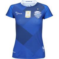 Camisa Do Csa Ii 2018 Nº 10 Azulão - Feminina - Azul