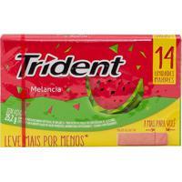 Chiclete Trident Clutch Watermelon 25G