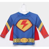 Camiseta Infantil Tip Top Com Capa Masculina - Masculino