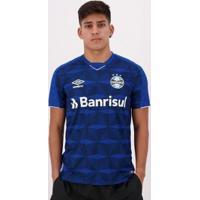 Camisa Masculina Umbro Grêmio Oficial 3 Fan Classic 2019 - Masculino