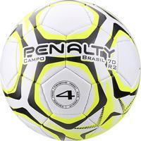 e1b7ab1af6 Netshoes  Bola De Futebol Campo Penalty Brasil 70 N4 R2 Lx - Unissex