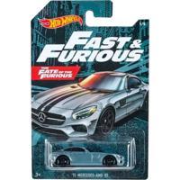 Carrinho Hot Wheels Velozes Mercedes '15 Amg Gt - Mattel