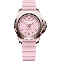 Relógio Victorinox Swiss Army Feminino Borracha Rosa - 241807