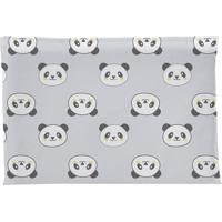 Travesseiro Era Uma Vez Antissufocante Estampado Panda Cinza