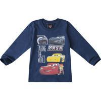 Camiseta Carros® Menino Malwee Kids