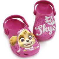 Babuche Infantil Ventor Patrulha Canina Skye Plugt Feminino - Feminino-Pink