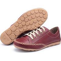 Tênis Top Franca Shoes Feminino - Feminino-Vinho