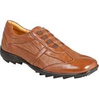 Sapato Casual Masculino Conforto Sandro Moscoloni Soho Marrom Cognac