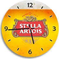 Relógio De Parede Decorativo Cerveja Stella Artois Único
