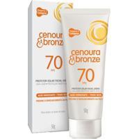 Protetor Solar Facial Diário Cenoura & Bronze - Fps70 50G - Unissex-Incolor