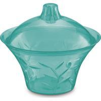 Bomboniere Plus Verde-Água Translúcida 1 L
