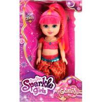Boneca Articulada - Funville Sparkle Girlz - Genie Pink - Dtc - Feminino