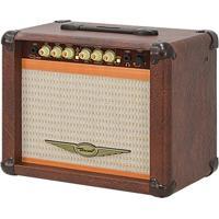 Cubo Amplificador Para Guitarra Oneal Ocg-100N-Mr 30W 8 Pol Marrom