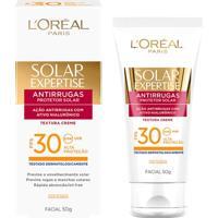 Protetor Facial L'Oréal Paris Solar Expertise Antirrugas Fps 30 50G - Unissex