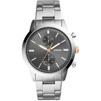 Relógio Fossil Casual Townsman Masculino - Masculino-Cinza