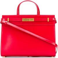 Saint Laurent Manhattan Small Shopping Bag - Vermelho