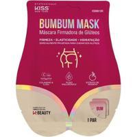 Máscara Firmadora De Glúteos Kiss Ny Bumbum Mask 1Un - Unissex-Incolor
