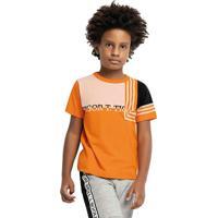 Camiseta Tigor T. Tigre Laranja