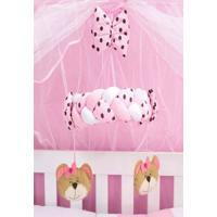Móbile Berço Bebê Família Urso Rosa - Tricae