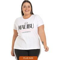 T-Shirt Malibu Branco