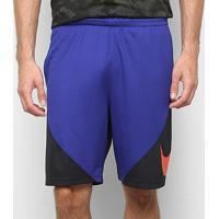 Bermuda Nike Hbr Masculina - Masculino-Roxo+Preto