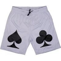 Bermuda Skull Clothing Poker Masculina - Masculino