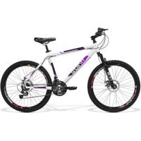 Bicicleta Gts M1 Walk New Aro 26 Freio A Disco Câmbio Shimano 21 Marchas Amortecedor - Unissex