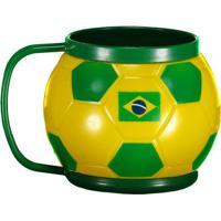Caneca Térmica Brasil 400Ml