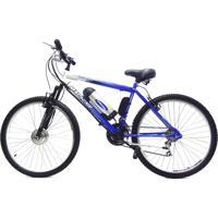 Bicicleta Elétrica Machine Motors Lithium 350W 36V Azul