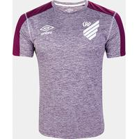 Camisa Athletico Paranaense Aquecimento 19/20 Umbro Masculina - Masculino