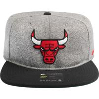 Boné Nike Nba Chicago Bulls Arobill Pro Heather - U
