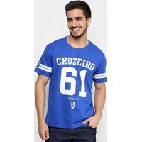 Netshoes  Camiseta Cruzeiro 61 Masculina - Masculino 1ca1e1c35e8b0