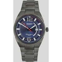 Relógio Analógico Orient Masculino - Mpss1007 D2Gx Prateado